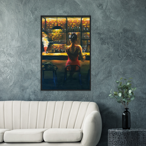 One for the Road - Framed Art Print