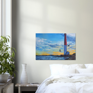 Barnegat Lighthouse - Canvas