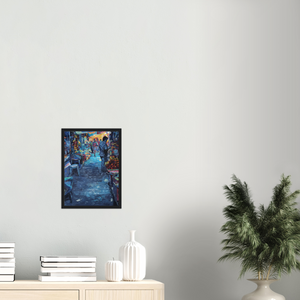 Spice Road - Framed Art Print