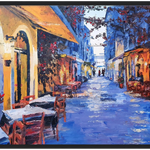Corfu - Framed Art Print