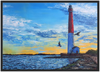 Barnegat Lighthouse - Framed Art Print