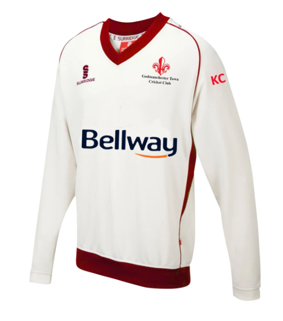 Godmanchester Town Cricket Club Sweater - The Incredible Cricket Company