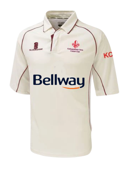 Godmanchester Town Cricket Club Senior Match Shirt (Short Sleeve) - The Incredible Cricket Company