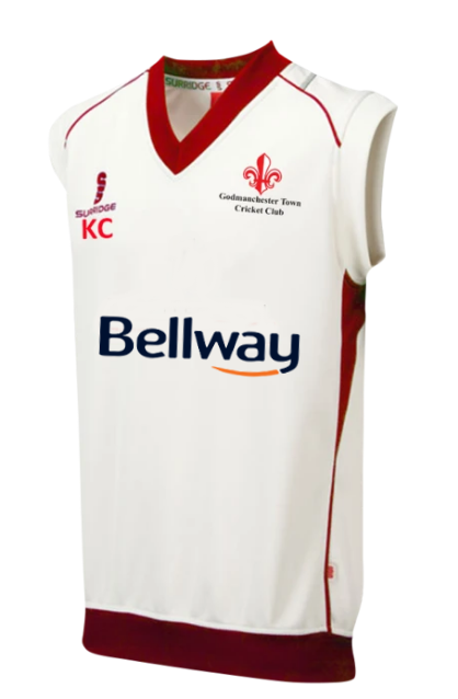 Godmanchester Town Cricket Club Slipover - The Incredible Cricket Company
