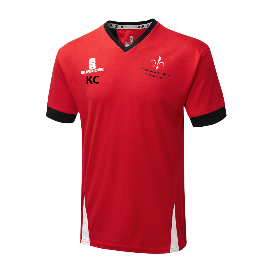 Godmanchester Town Cricket Club Training Shirt - The Incredible Cricket Company