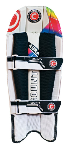 Hunts County Aura Wicket Keeping Pads - The Incredible Cricket Company