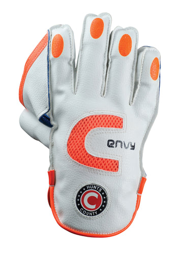 Hunts County Envy Wicket Keeping Gloves - The Incredible Cricket Company