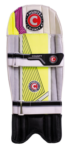 Hunts County Neo Wicket Keeping Pads - The Incredible Cricket Company