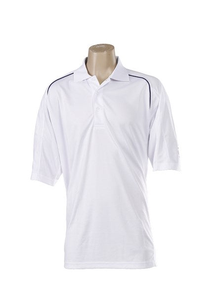March Town CC White Polo Shirt - The Incredible Cricket Company