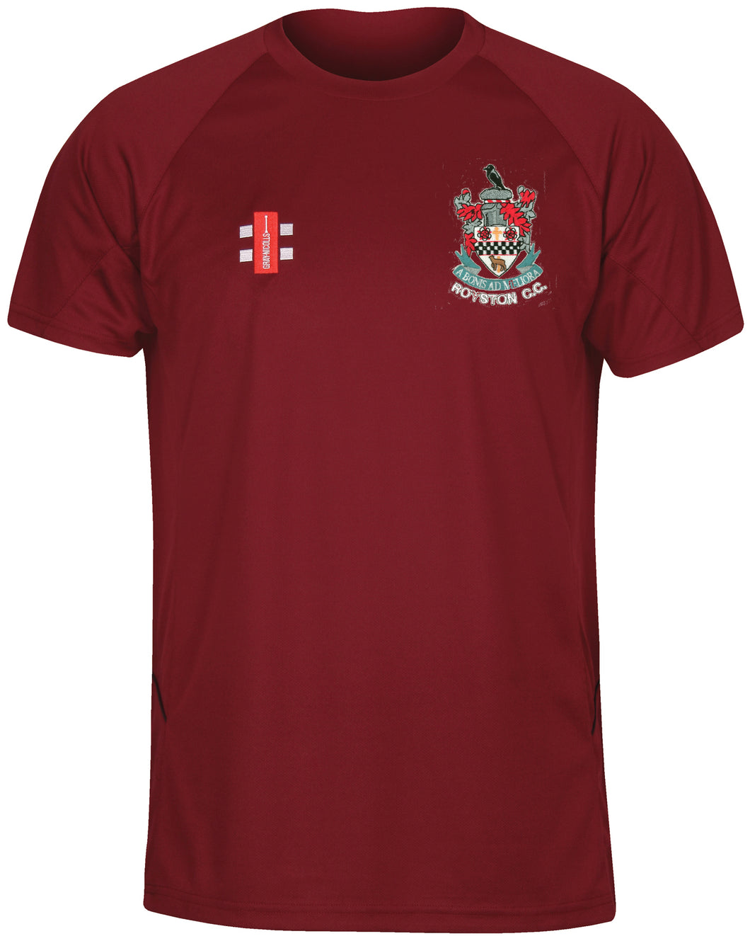 Royston CC Senior Matrix T-Shirt - The Incredible Cricket Company