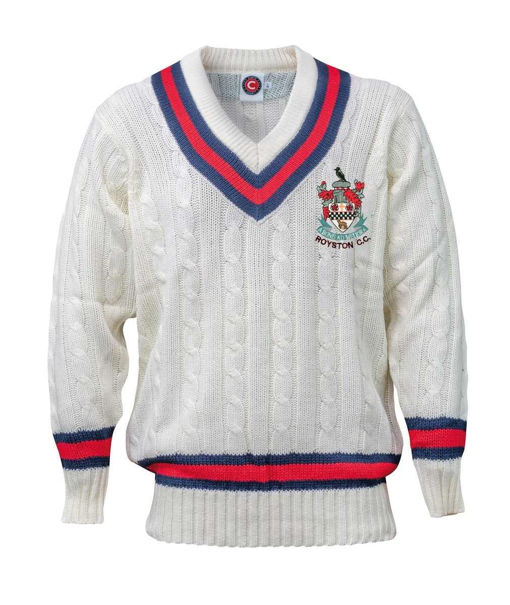Royston CC Sweater Junior - The Incredible Cricket Company