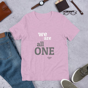 ALL ONE Short-Sleeve Unisex T-Shirt - SPIRITUALRIVER