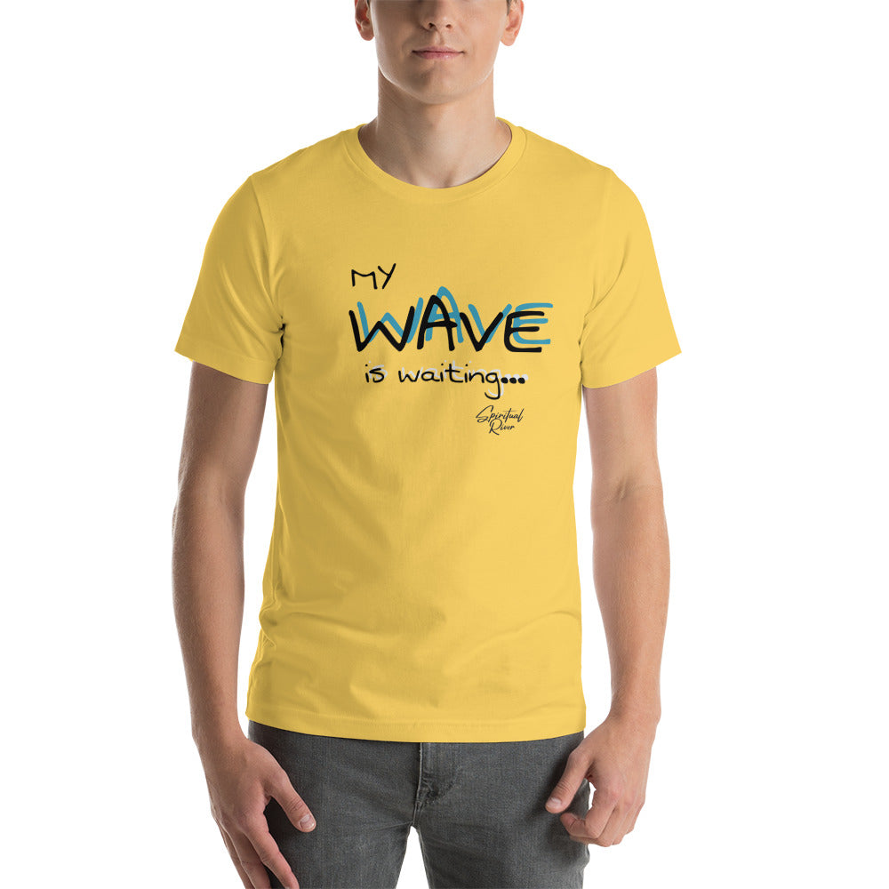 MY WAVE Short-Sleeve Unisex T-Shirt - SPIRITUALRIVER