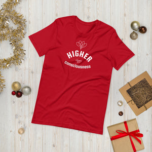 HIGHER CONSCIOUSNESS Short-Sleeve Unisex T-Shirt - SPIRITUALRIVER
