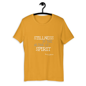 STILLNESS Short-Sleeve Unisex T-Shirt - SPIRITUALRIVER
