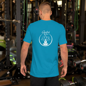 MEDITATION SURFING Short-Sleeve MEN T-Shirt - SPIRITUALRIVER