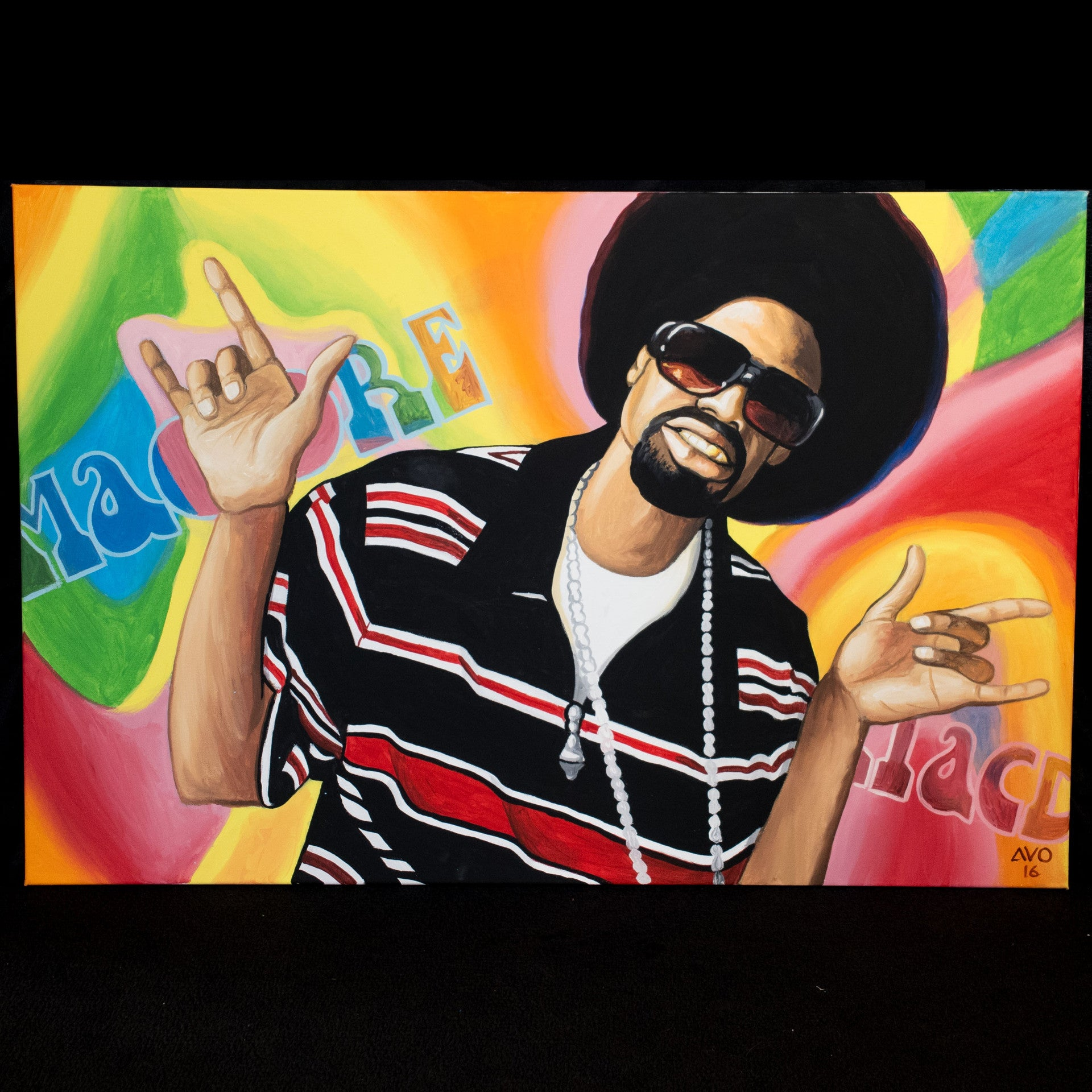 Mac Dre Painting Boss Ty X