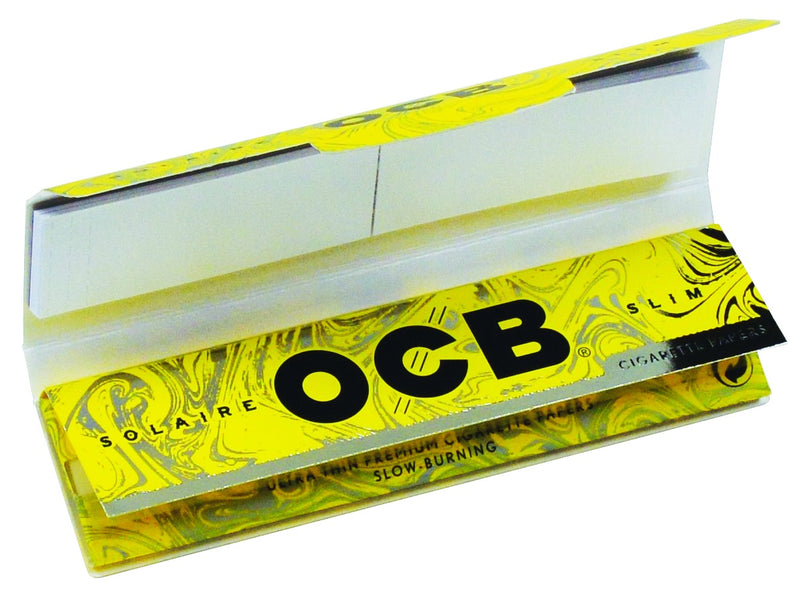 OCB - Solaire Rolling Papers + Tips - King Size Slim