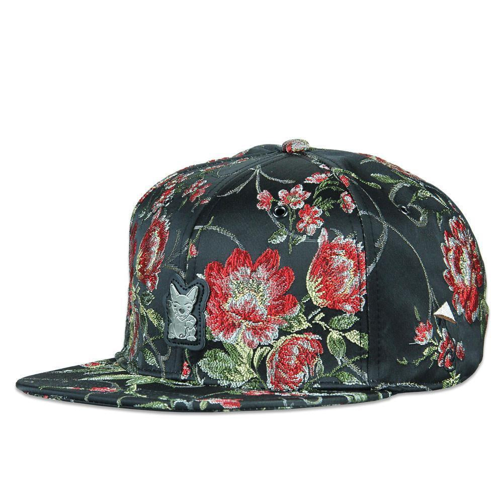 139ef831ee2 Grassroots - Lucky Cat Red Strapback Hat - The Cave