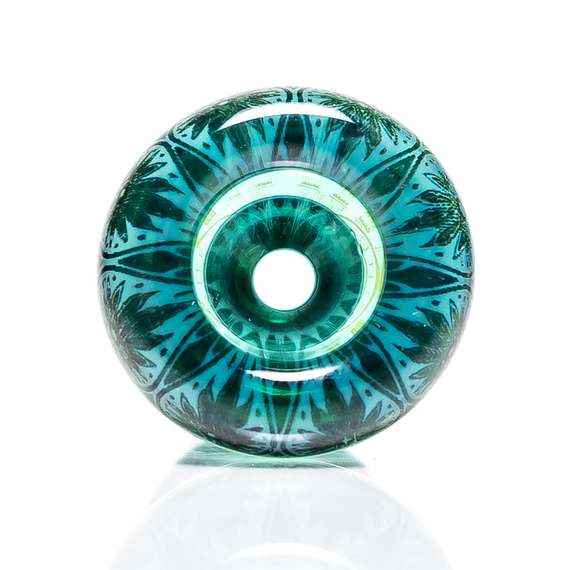 Mothership - 14mm Slide - Teal - Gaze