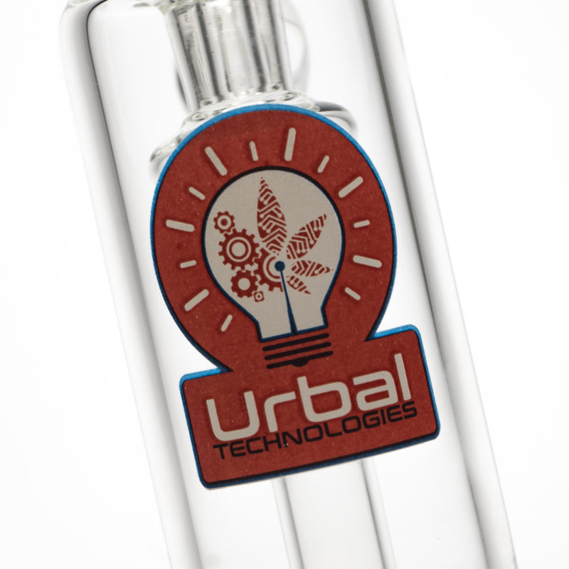 Urbal Technologies - Hybrid 4 Hole Bubbler - 14mm - Red & Blue Label