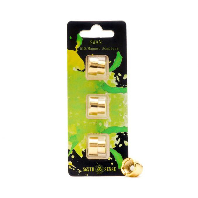 Swan - Magnetic 510 Connector - 3pk - Large
