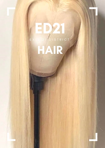 ED21 613 Blonde Straight Lace Front Wig