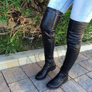 ED21 Ride Along Thigh High Boots