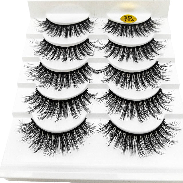 Exit 21 District 6D Mink Eyelashes Cruelty-free