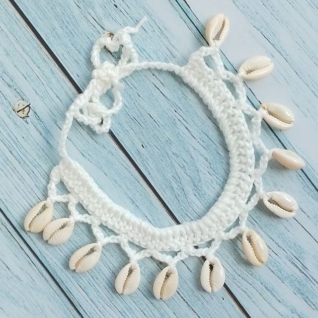 ED21 Seashell Necklaces & Anklets