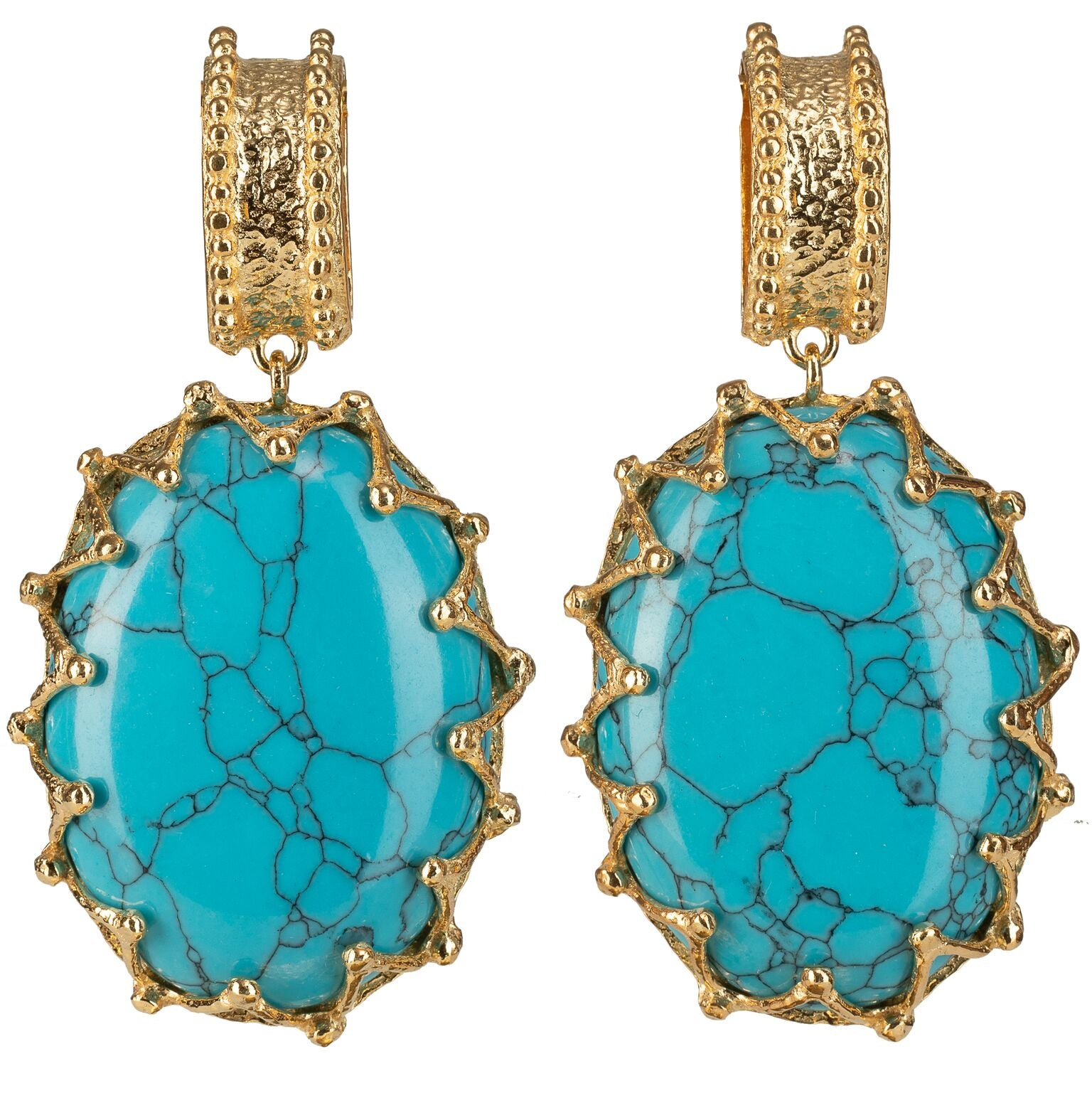 Lola Earrings Turquoise