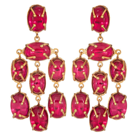 Martina Earrings Pink