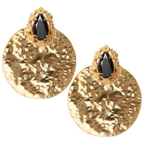 Lopez Earrings Black