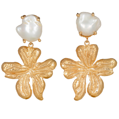 Elisabetta Earrings Gold