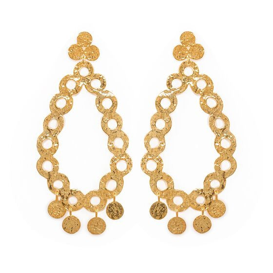 Aria Earrings Gold