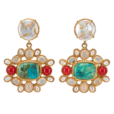 Abriana Earrings Multi