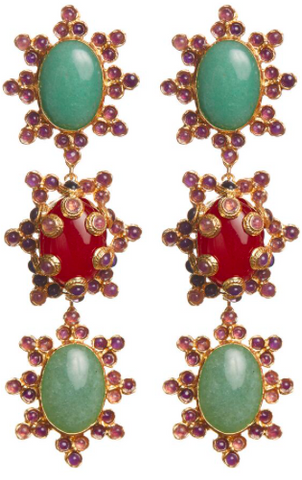 Aemilia Earrings Green