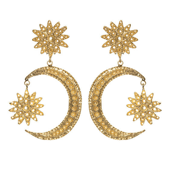 Adara Earrings Gold