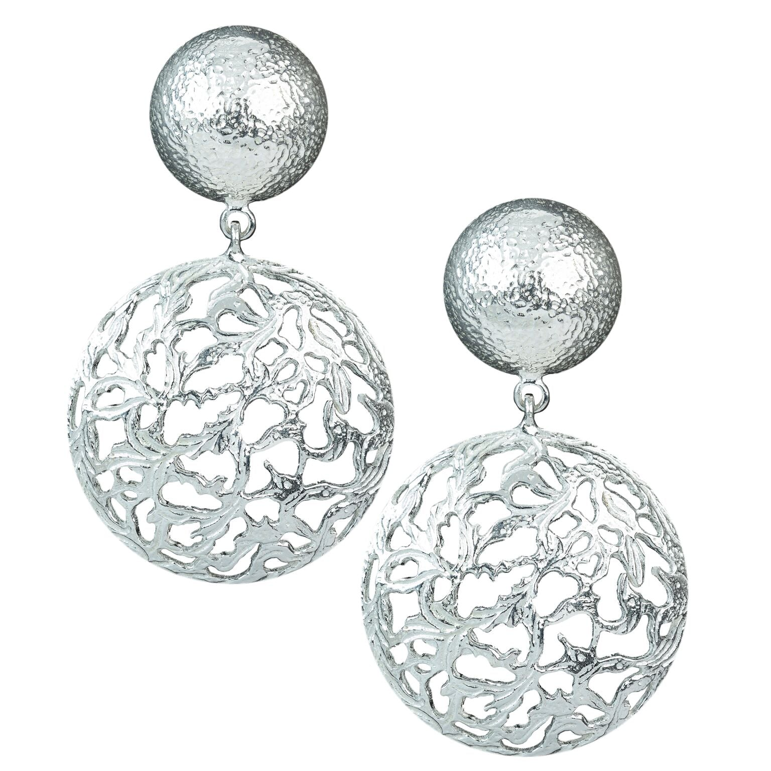 Lila Earrings Silver