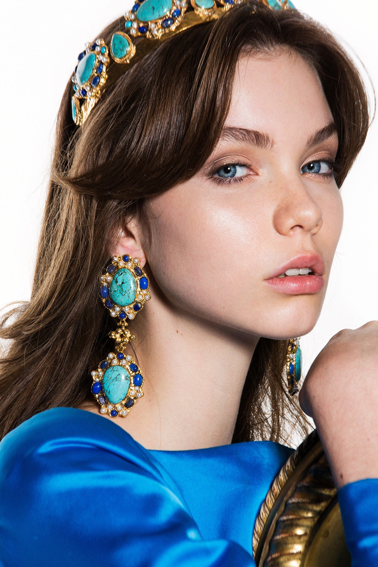 Carlotta Earrings Turquoise