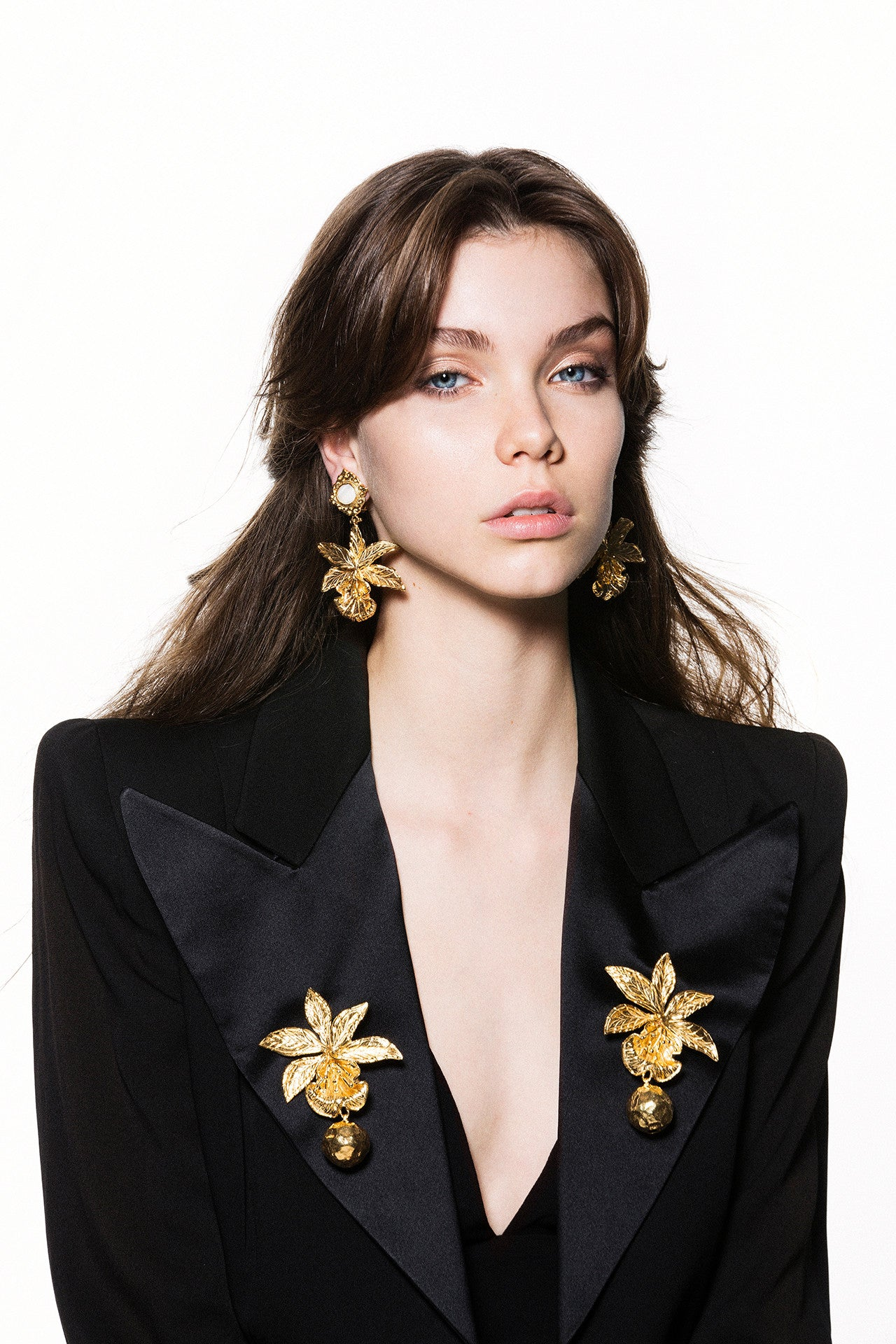 Aniella Earrings Gold