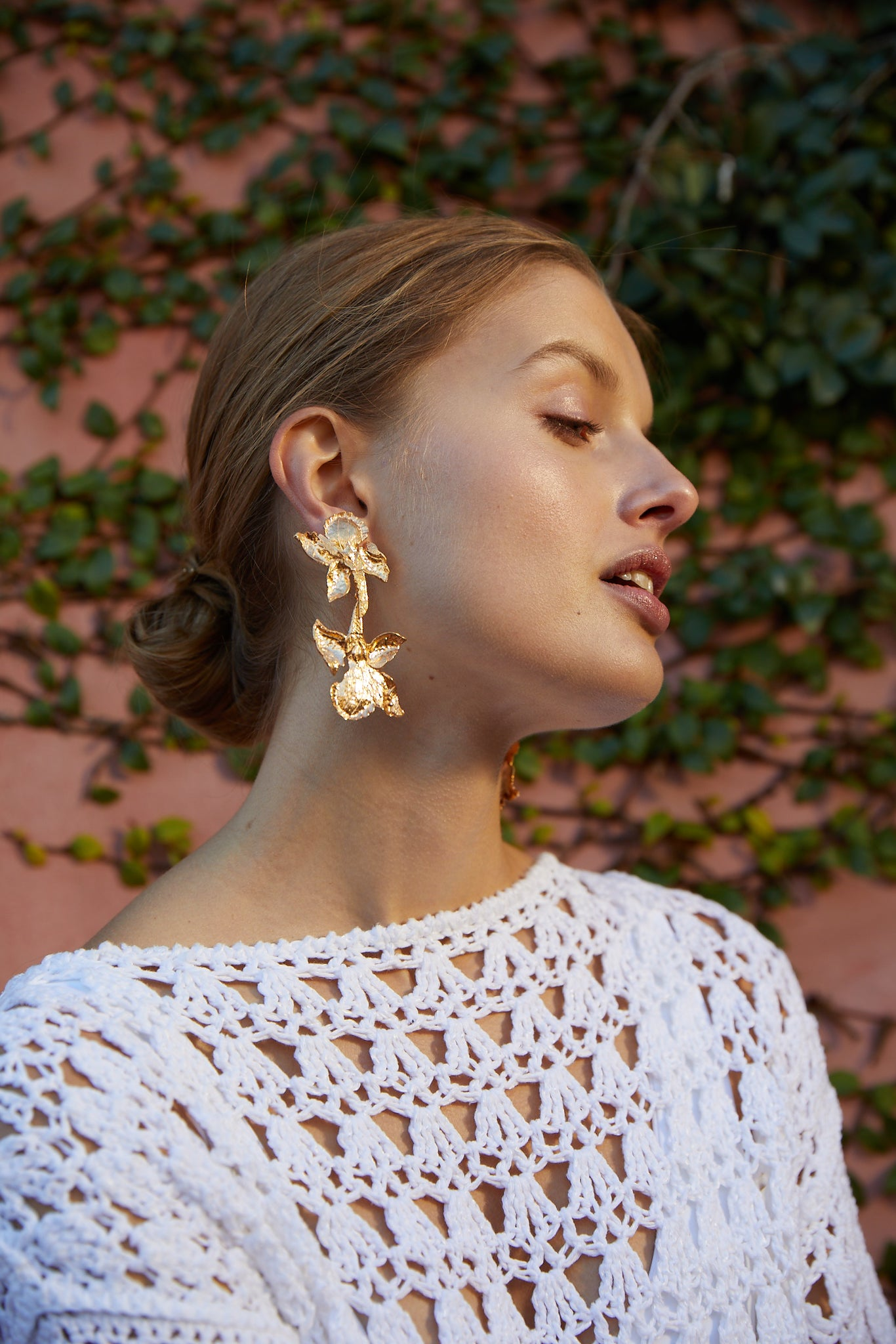 Cacilie Earrings Gold