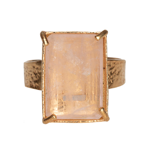 Clio Ring Pale Pink