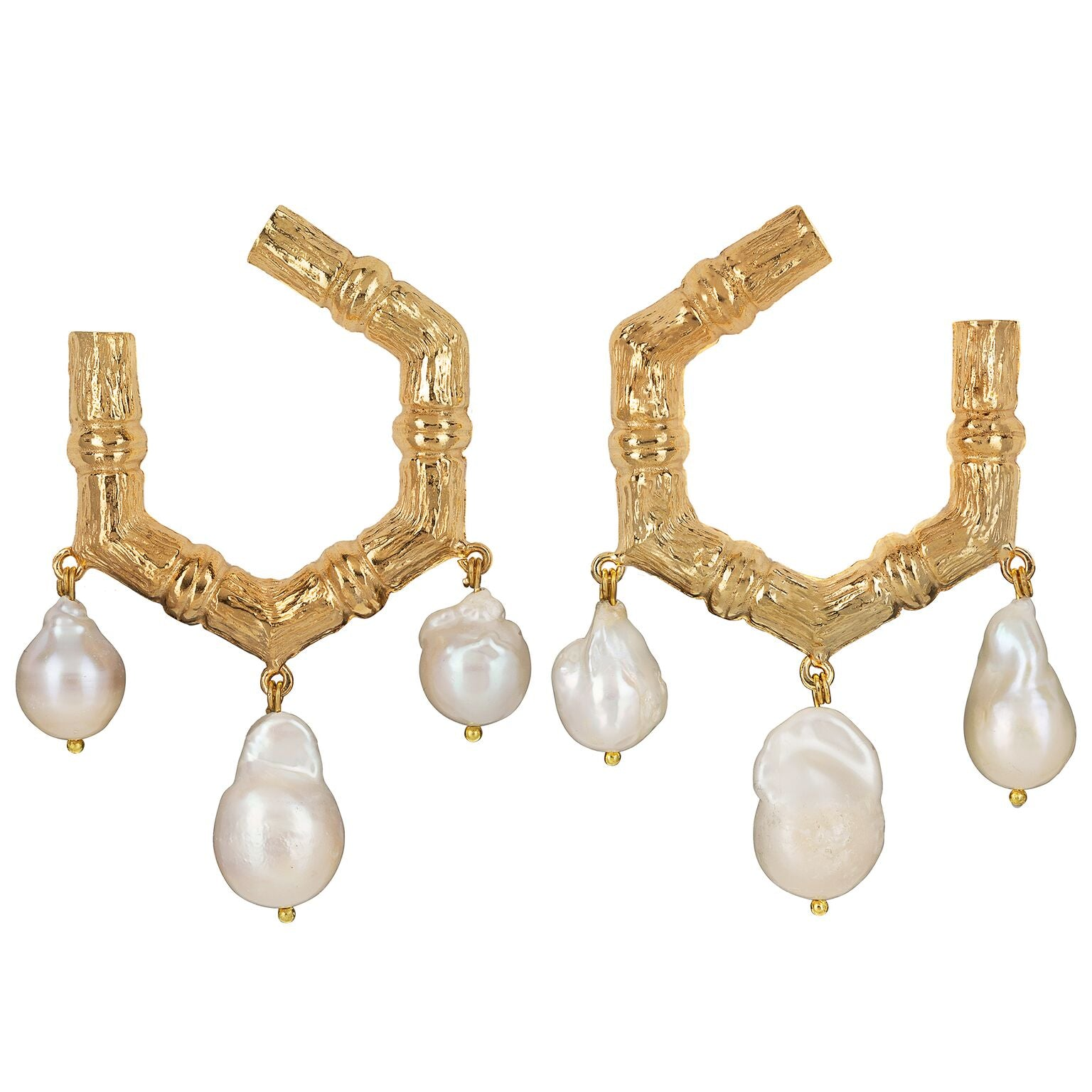 Lareina Earrings Gold