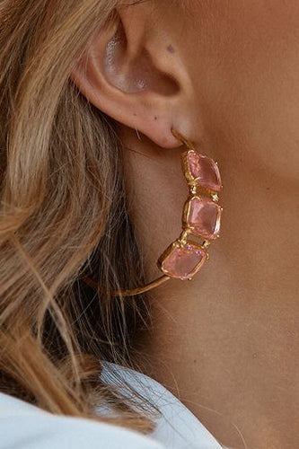 Lilla Hoops Pink