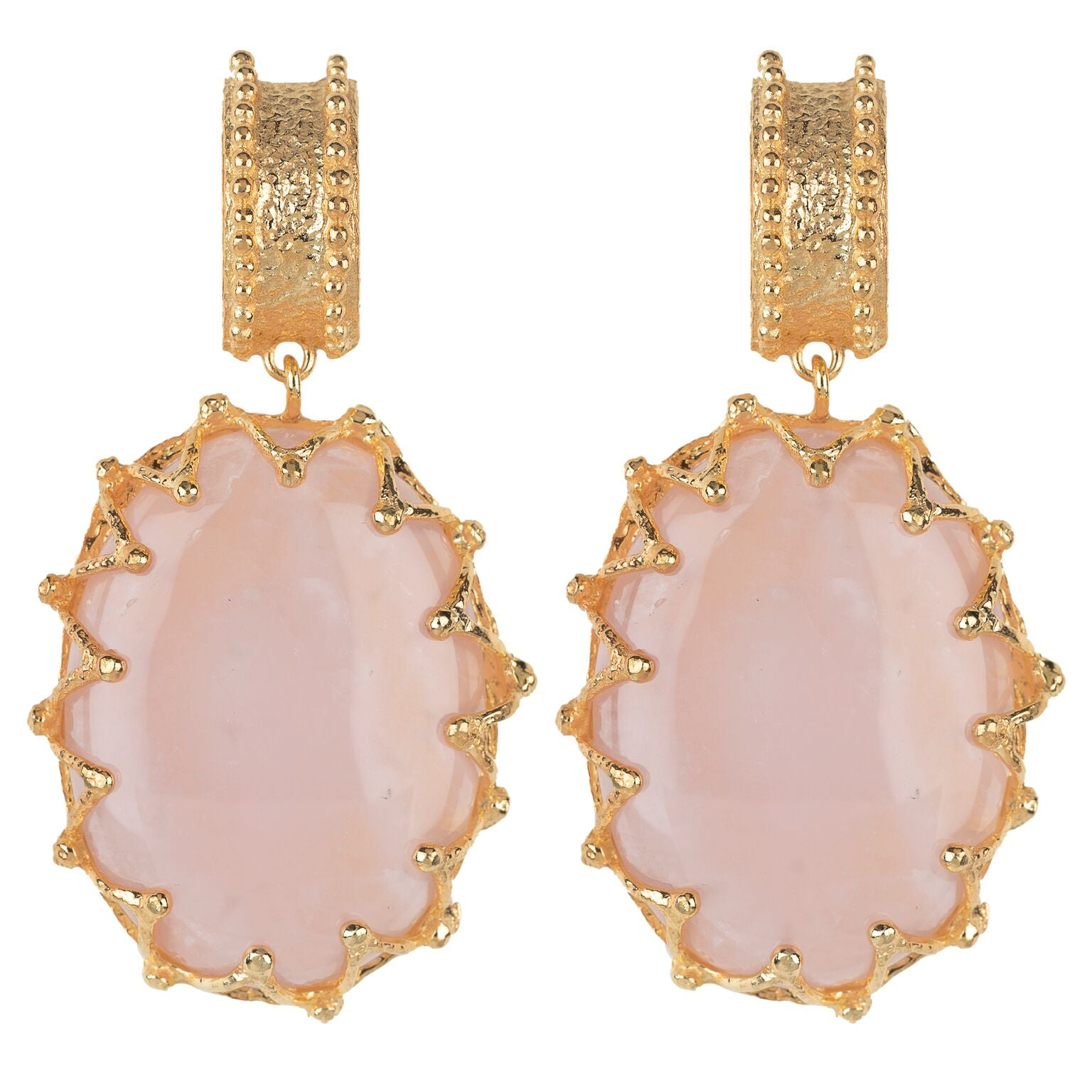 Lola Earrings Pale Pink