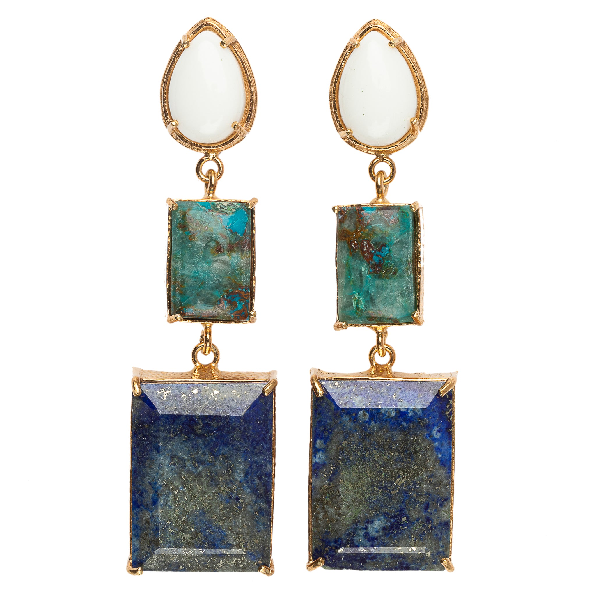 Eleonora Earrings Blue