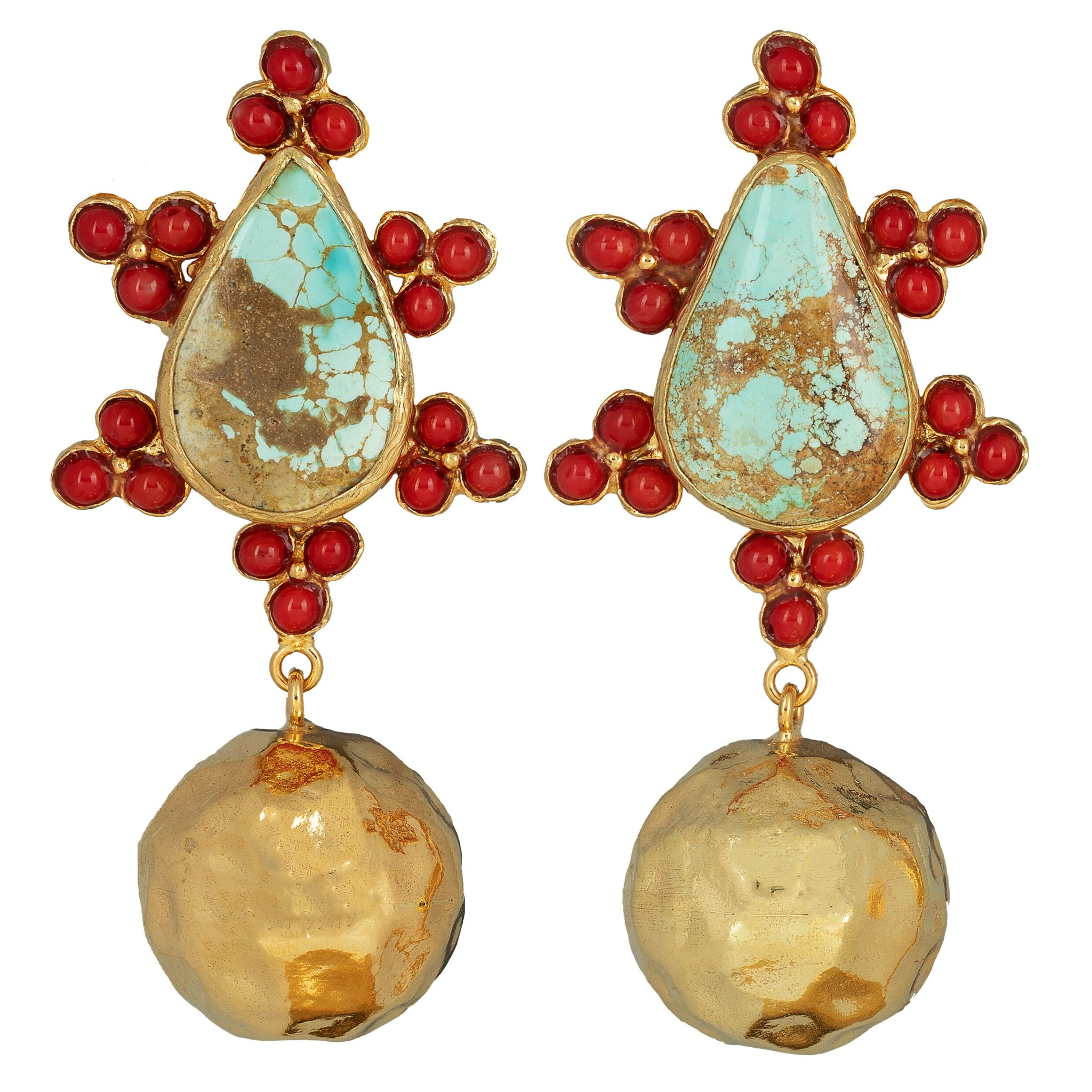 Torres Earrings Turquoise