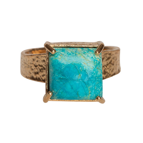 Gaia Ring Turquoise