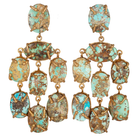 Martina Earrings Turquoise